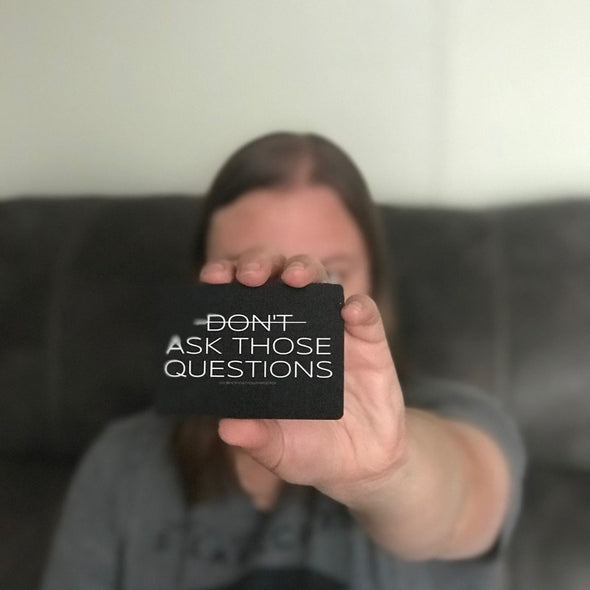 Don't Ask Those Questions by Honest Youth Pastor