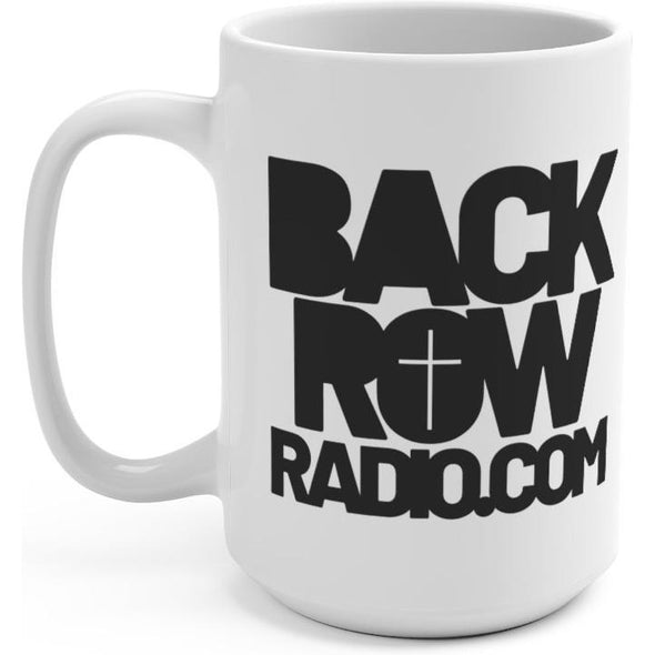 Back Row Radio 15oz Mug