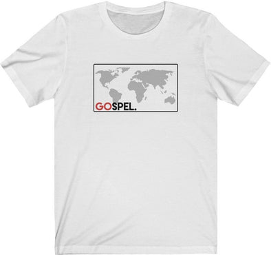GOspel World Map T-Shirt