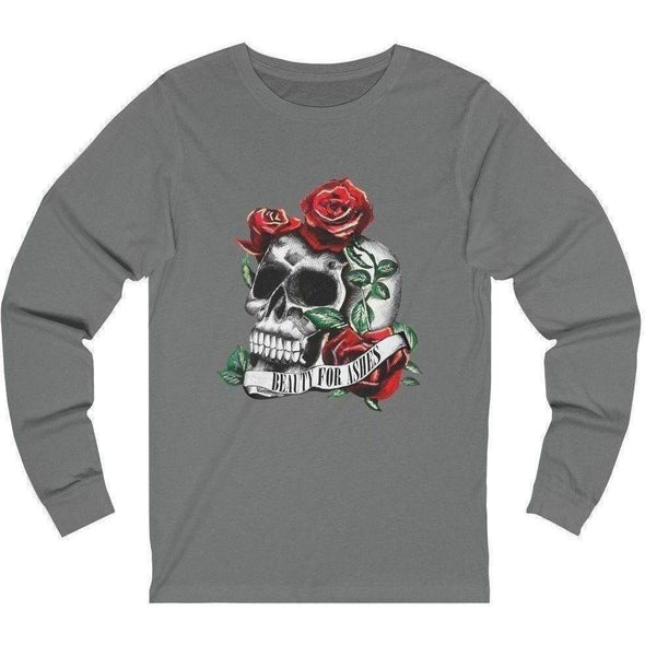 Beauty for Ashes Skull Longsleeve
