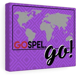 GOspel World Map Canvas