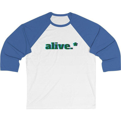Alive.* Baseball T-Shirt
