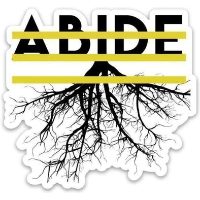 Abide Sticker