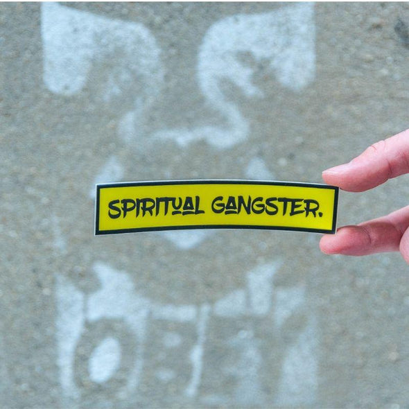 Spiritual Gangster Sticker