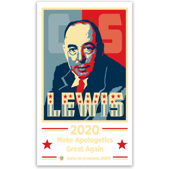 Lewis 2020 Sticker