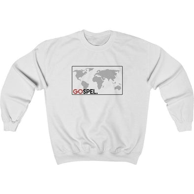 GOspel World Map Crewneck Sweatshirt