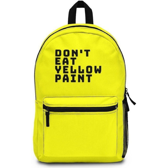 Yellow Paint Backpack