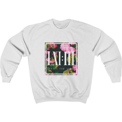 Beauty for Ashes Flowers Crewneck Sweatshirt