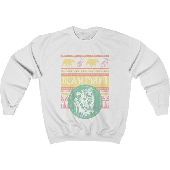 Ugly Sweater Bear Fruit V. 1 Crewneck Sweatshirt