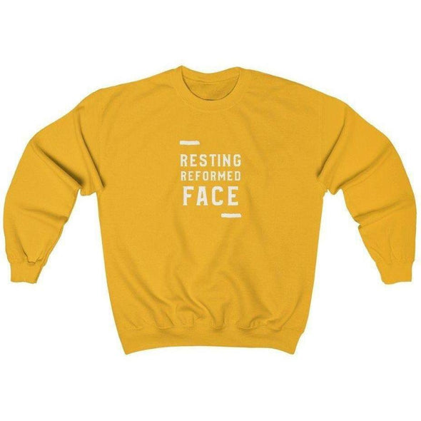 Honest Youth Pastor Resting Reformed Face Crewneck Sweatshirt