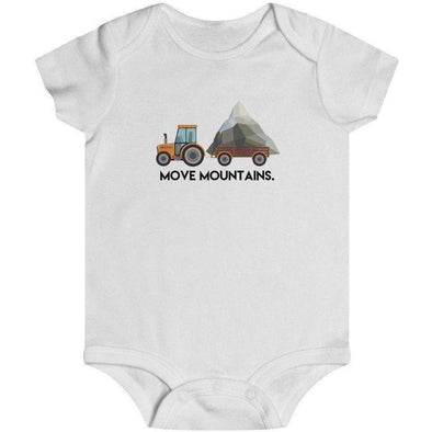 Move Mountains Infant Onesie
