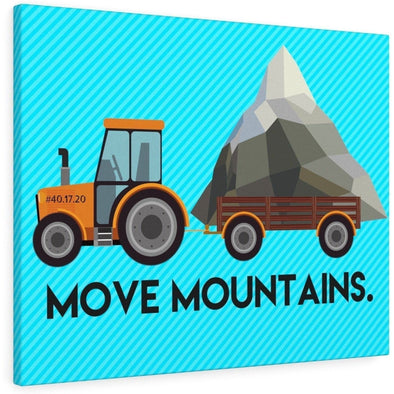Move Mountains Canvas