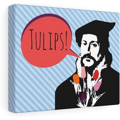 Calvin's Tulips Canvas 2
