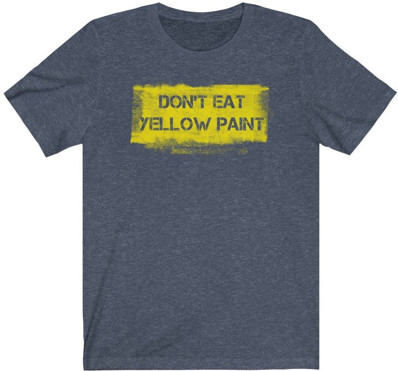 Yellow Paint T-Shirt