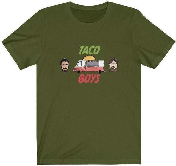 Taco Boys Podcast Logo T-Shirt