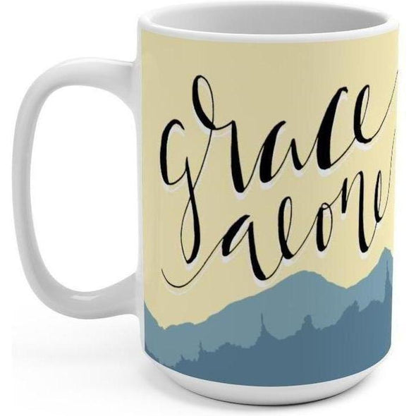 Grace Alone 15oz Mug