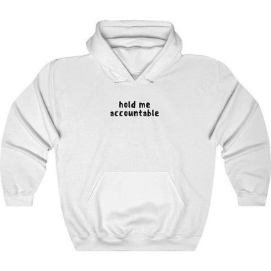 Back Row Accountable Hoodie