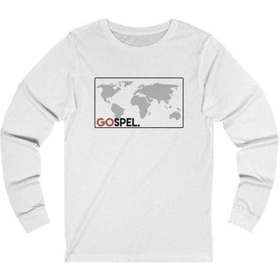 GOspel World Map Longsleeve