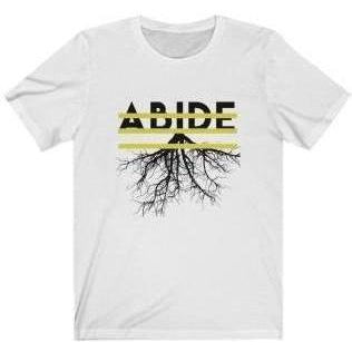 Abide T-Shirt White XL