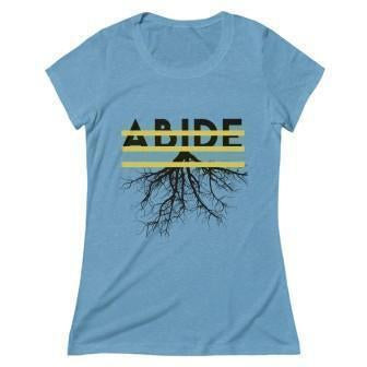 Abide Women's T-Shirt Aqua XL