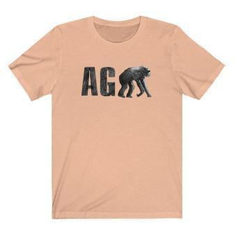 Agape T-Shirt Heather Peach L