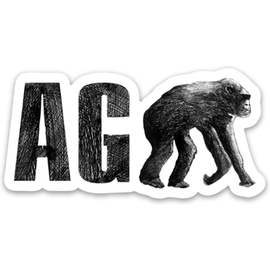 AGAPE Sticker