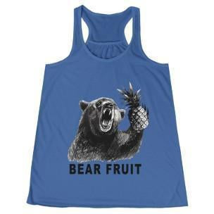 Bear Fruit Women's Racerback True Royal S
