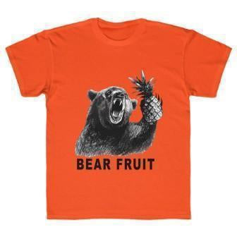 Bear Youth T-Shirt Orange M