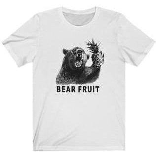 Bear Fruit T-Shirt White 4XL