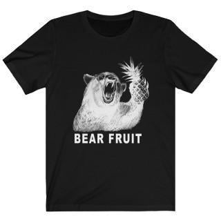 Bear Fruit (White) T-Shirt Black M