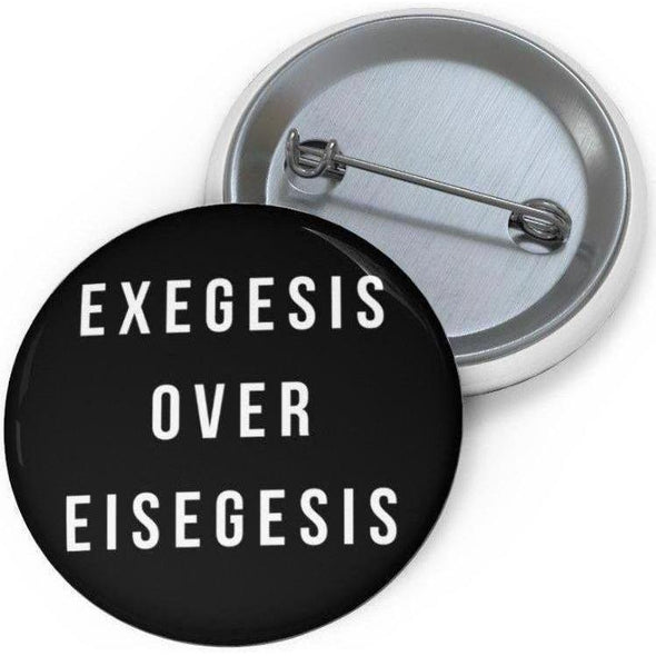 Honest Youth Pastor Exegesis Pin