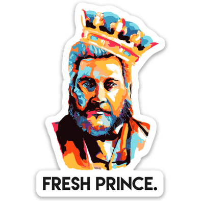 Fresh Prince Spurgeon Sticker