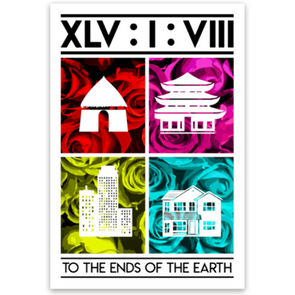 End of the Earth Sticker