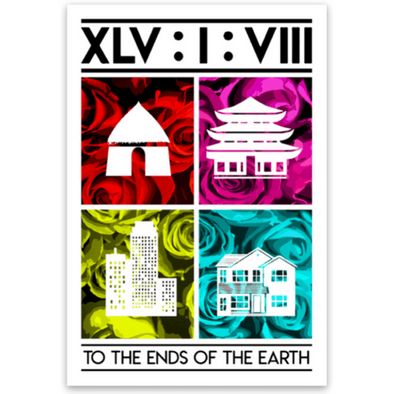 Earth's End Sticker