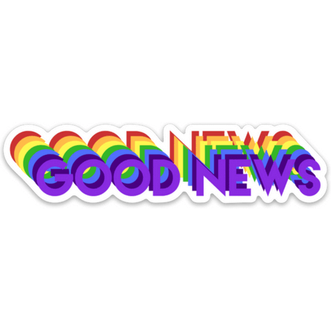 Good News Sticker