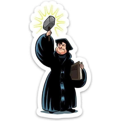 RefToons: Luther Sticker