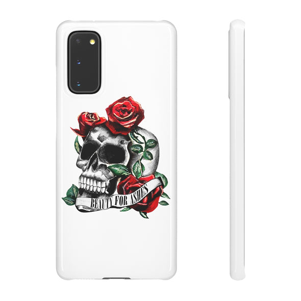 Beauty for Ashes Skull Phone Case