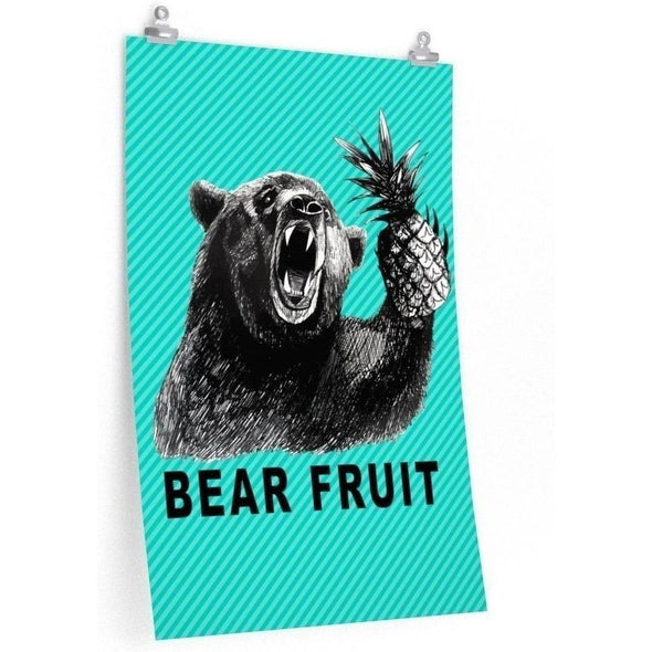 Bear Fruit Poster (Color)