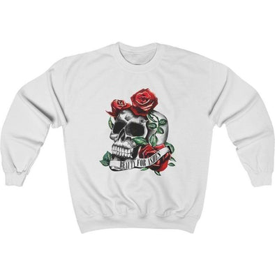 Beauty for Ashes Skull Crewneck Sweatshirt