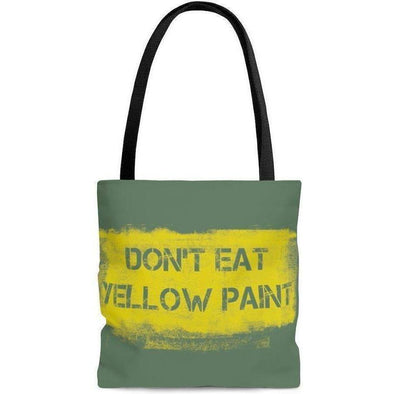 Yellow Paint Tote Bag