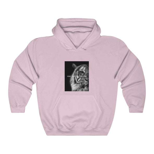 Jesus Loves The Tiger King Hoodie