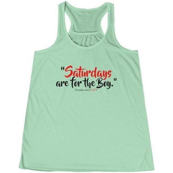 Saturdays for the Boy Women's Tank