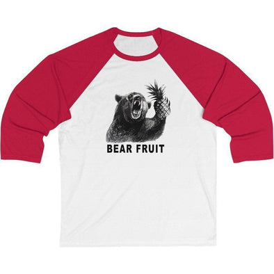 Bear Fruit Baseball T-Shirt