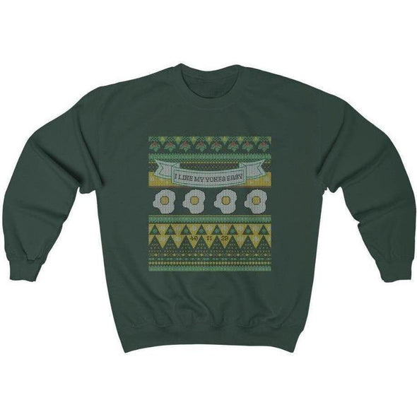 Ugly Sweater Easy Yokes Crewneck Sweatshirt