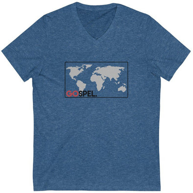 GOspel World Map V-Neck