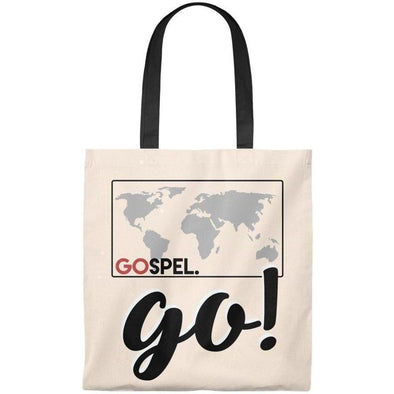 GOspel World Map Tote