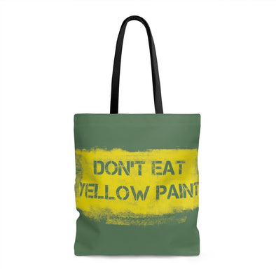 Yellow Paint AOP Tote