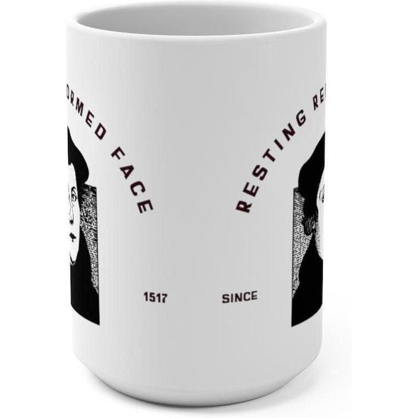 Honest Youth Pastor Resting Reformed Face V. 2 15oz Mug