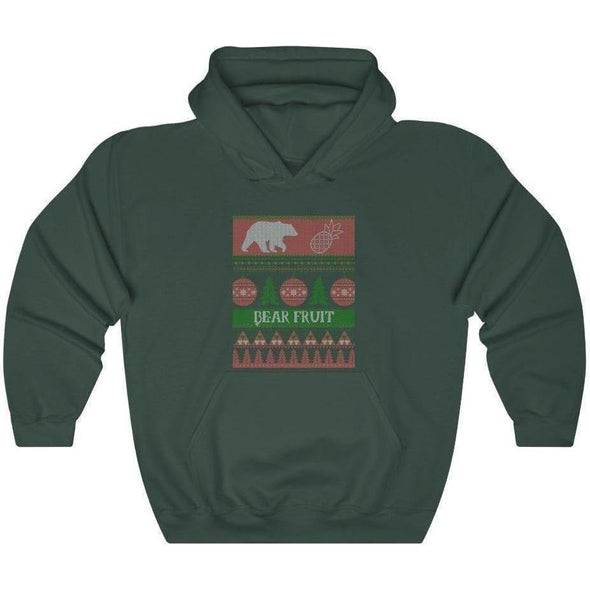Ugly Sweater Bear Fruit V. 2 Hoodie