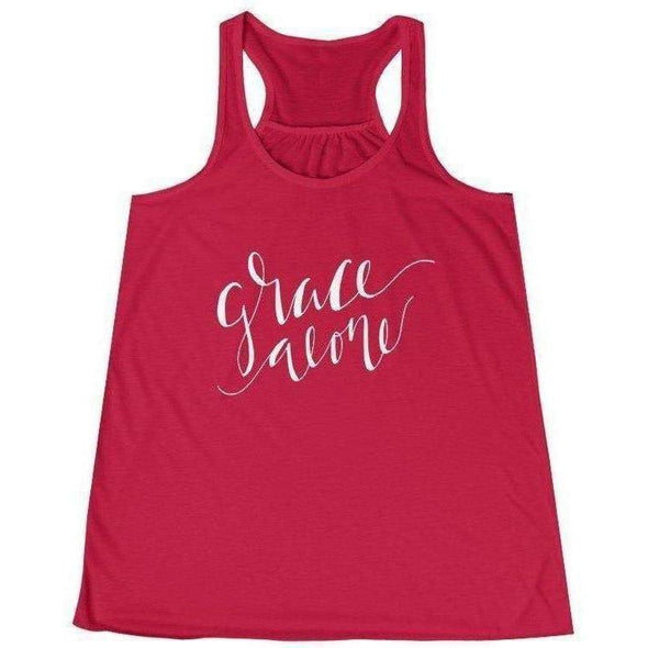 Grace Alone Women's Racerback Tank